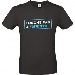 Tee shirt Touche pas à personnalisé