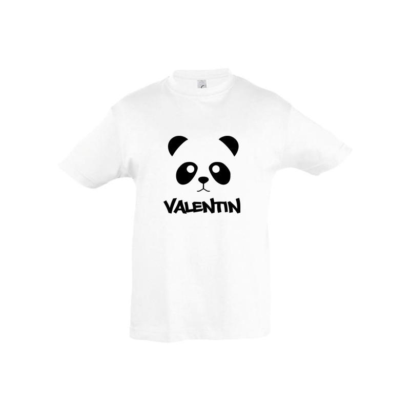 Tee shirt nounours ourson prénom personnalisé ref 1
