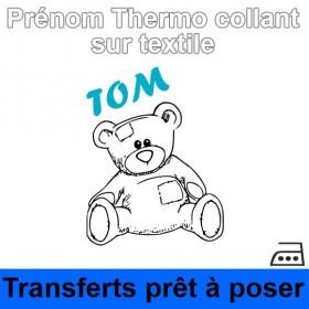 Sticker nounours Prénom...