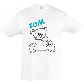 Tee shirt nounours ourson...