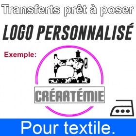 Transfert Logo personnalisé...