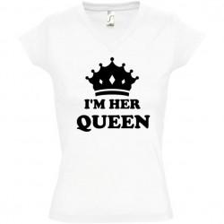 Tee shirt femme I am her queen