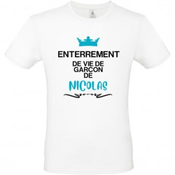 Tee shirt evg - enterrement...