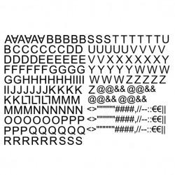 Lettres alphabet...
