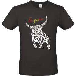 Tee shirt design Taureau Espagne