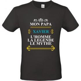 Tee shirt mon Papa l'homme,...