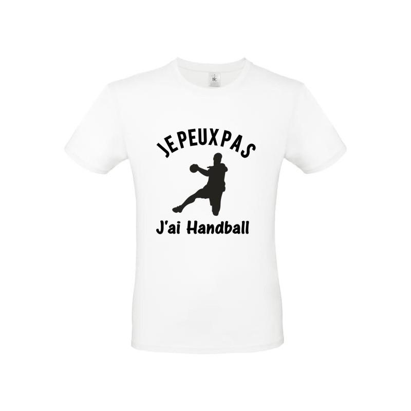 Tee shirt je peux pas j'ai handball