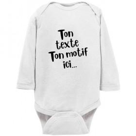 Body bébé personnalisé...