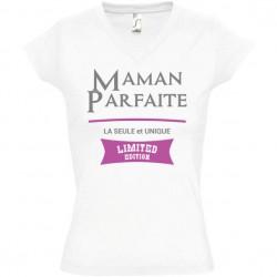 T shirt Maman Parfaite limited edition personnalisé