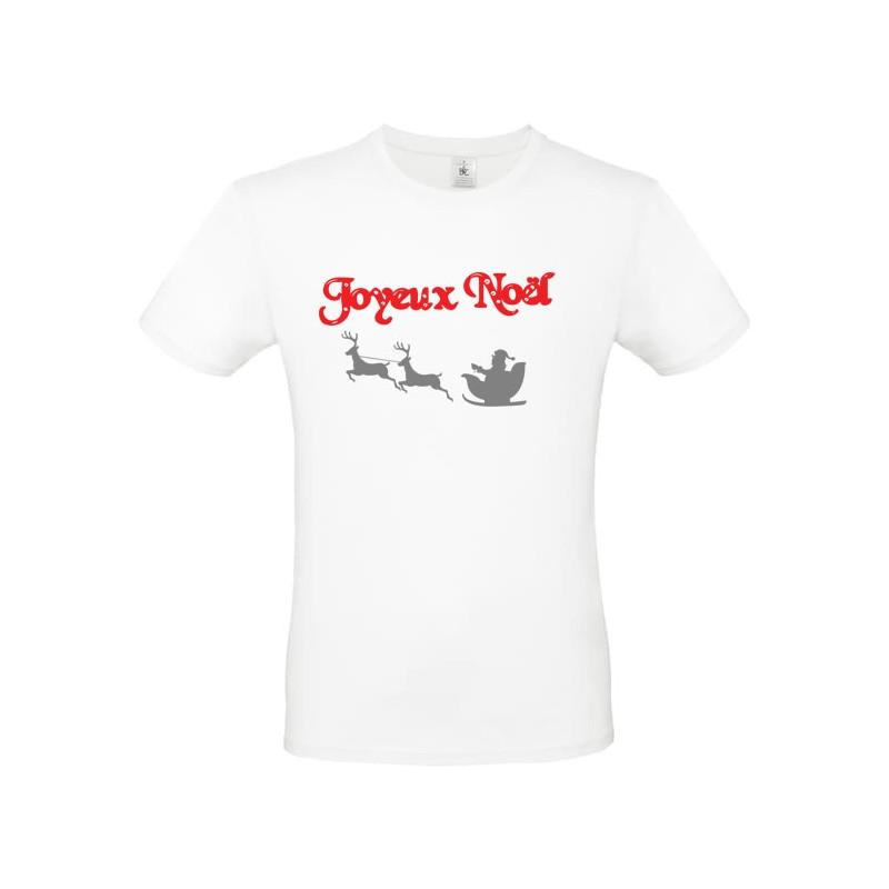 T shirt moche Noel Traineau de Noel