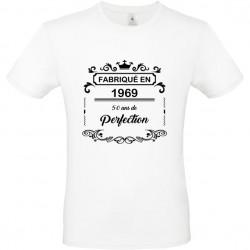 T shirt Anniversaire vintage 10 ans, 20 ans, 30 ans, 40 ans, 50 ans, 60 ans age à personnaliser