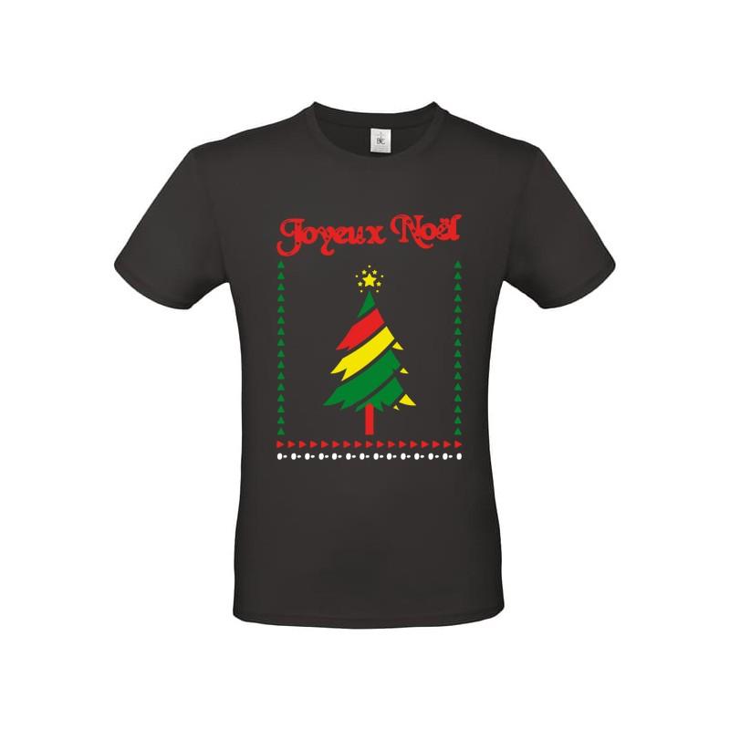 T shirt moche de Noel Joyeux Noel sapin de noel