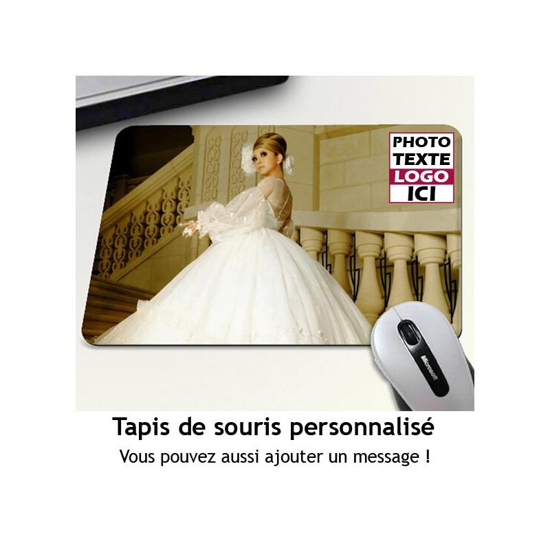 Tapis De Souris A Personnaliser Avec Votre Photo Et Message