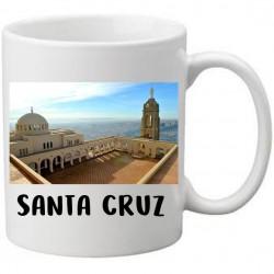 Mug Blanc à personnaliser pied noir Oran et photo de Santa Cruz