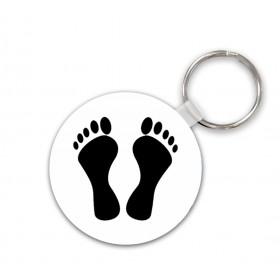 Porte clés pied noir en...