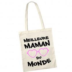 Sac de shopping tote bag meilleure maman du monde Ref 2
