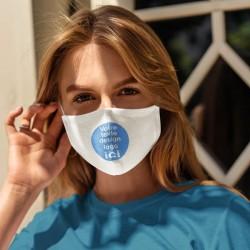 Masque en tissus personnalisé