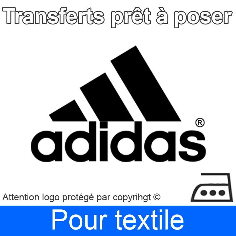 Transfert Logo marque Adidas prêt à poser ref 2