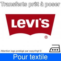 Transfert Logo marque Levis prêt à poser