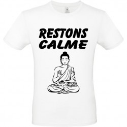 Tee shirt Bouddha keep calm