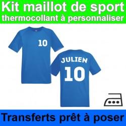 Kit maillot de sport à...