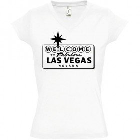 Tee shirt femme Las Vegas...