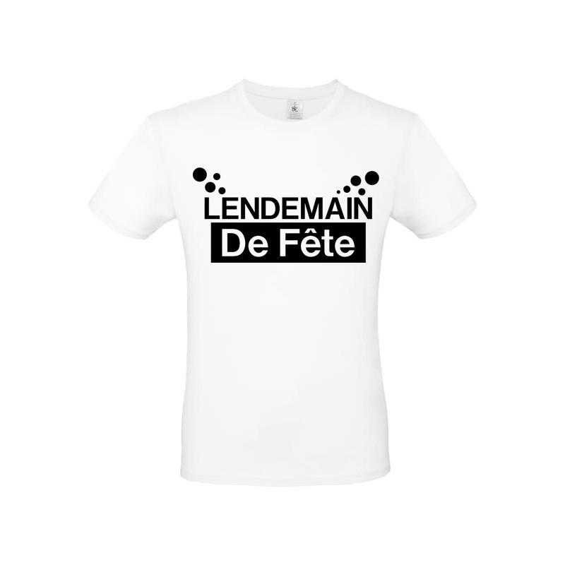 Tee shirt Lendemain de fête personnalisable