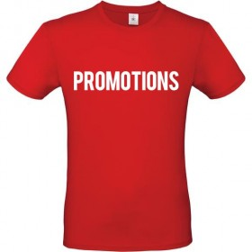 Tee shirt marquage PROMOTIONS
