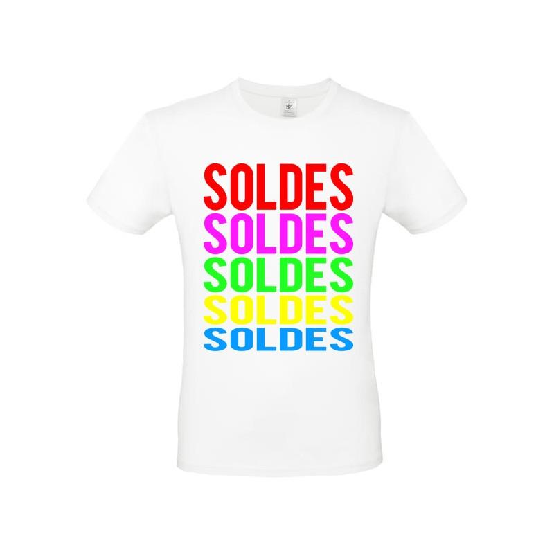 Tee shirt marquage SOLDES ref 2