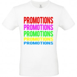 Tee shirt marquage PROMOTIONS ref 2