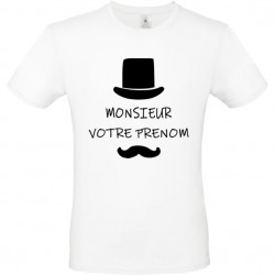 Tee shirt Monsieur...