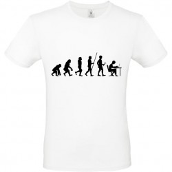 Tee shirt Evolution personnalisable