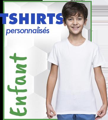T shirts personnalisés enfants