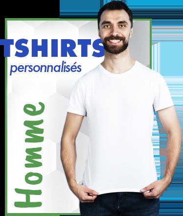 T shirts personnalisé homme